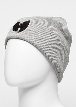 Beanie Wu-Logo grey/black