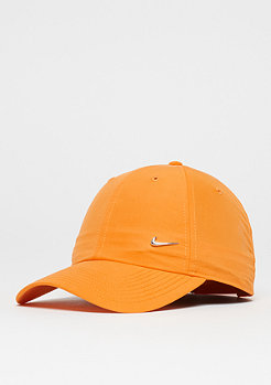 NIKE Metal Swoosh Logo circuit orange/metallic silver