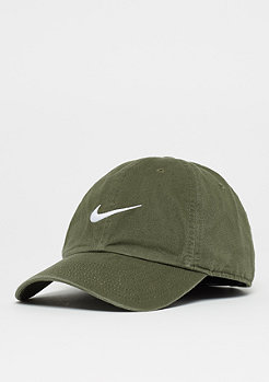 New Swoosh Heritage 86 medium olive/white