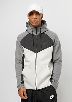 NIKE Tech Fleece Windrunner black heather/light bone/black