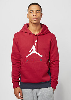 Jumpman Air GFX Fleece gym red/obsidian/white