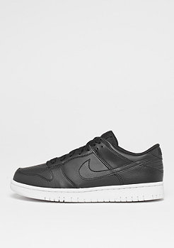 Dunk Low black/black/white