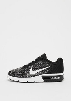 NIKE Air Max Sequent 2 black/white/dark grey