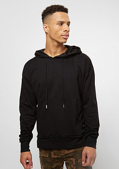 Hooded-Sweatshirt Drop Shoulder black