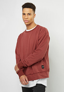 Sweatshirt Drop Shoulder marsala