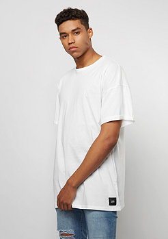 T-Shirt Dropshoulder Basic white