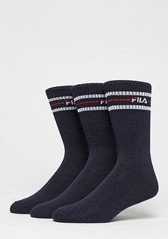 Unisex Street Socks 3-Pack F9092 navy