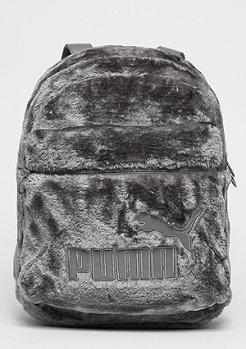 Fur Backpack grey