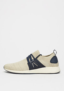 Project Delray WAVEY sand/navy knit