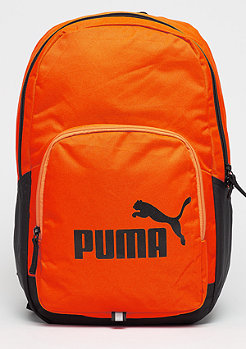Puma Phase Backpack shocking orange/black
