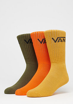 VANS Classic Crew 3er mineral yellow assorted