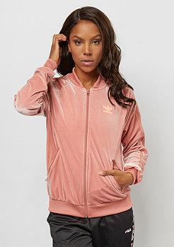 adidas SST Track Top Velvet raw pink