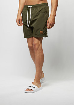 Block Swim Shorts olive/olive