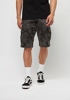 Chino-Shorts Camo grey camo