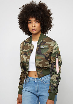 Alpha Industries Übergangsjacke MA-1 PM Cropped Wmn x Snipes