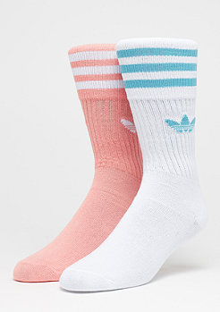 adidas Solid Crew 2er Pack trace pink