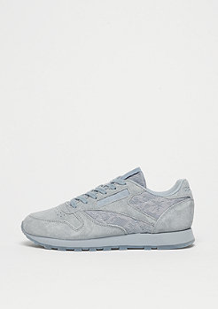 CL LTHR Lace meteor grey/white