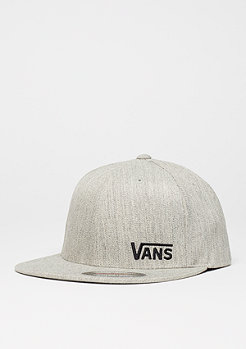 Fitted-Cap Splitz heather grey