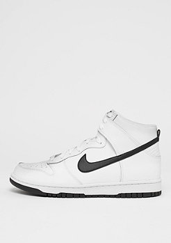 NIKE Dunk Hi white/black