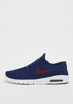 NIKE SB Stefan Janoski Max binary blue/team red-gum light brown