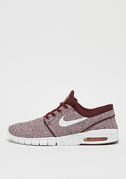 NIKE SB Stefan Janoski Max dark team red/white-circuit orange