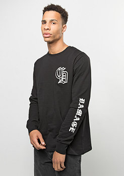 Criminal Damage Longsleeve Aperturle black/white