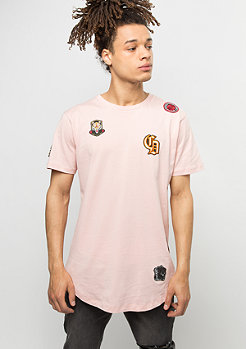Criminal Damage T-Shirt Emblem pink/multi