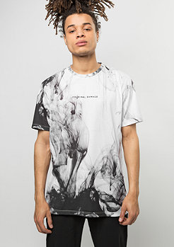 T-Shirt Haze white/black