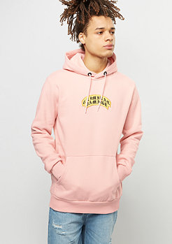 Criminal Damage Hooded-Sweatshirt Crest pink/yellow