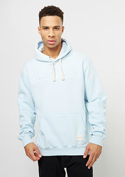 Hooded-Sweatshirt Hiber light blue