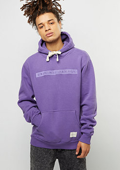 Hooded-Sweatshirt Hiber purple/purple