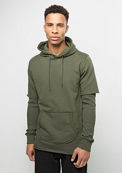 Hooded-Sweatshirt Orda olive/olive