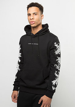 Criminal Damage Hooded-Sweatshirt Paulo black/multi