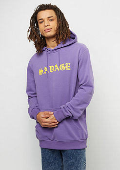 Hooded-Sweatshirt Savage purple/multi