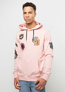 Criminal Damage Hooded-Sweatshirt Shield pink/multi