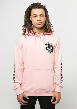 Criminal Damage Hooded-Sweatshirt Vasari pink/black