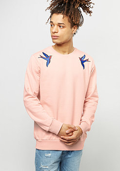 Criminal Damage Sweatshirt Swallows pink/multi
