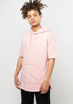 Criminal Damage T-Shirt Cut Hood Baller dusty pink