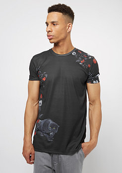 Criminal Damage CD Tee Panther black/multi
