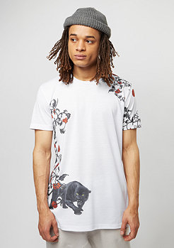 CD Tee Panther white/multi