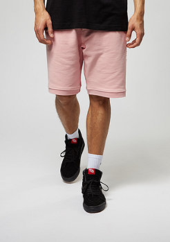 Criminal Damage Shorts Baller dusty pink