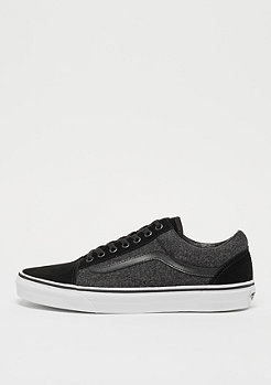 UA Old Skool Suede & Suiting black