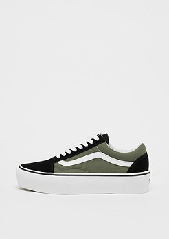 VANS UA Old Skool Platform grape leaf/true white