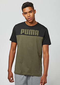 Puma Rebel Block olive night