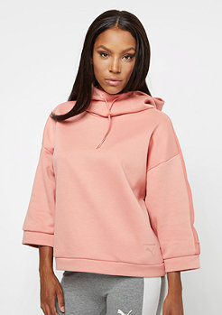 Puma Tape Funnel Neck cameo brown