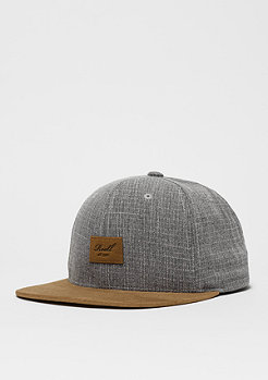 Suede 6-Panel grey crosshatch