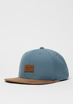 Suede 6-Panel blue steal