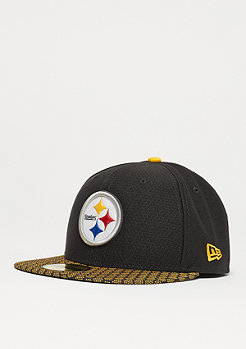 New Era 59Fifty Sideline NFL Pittsburgh Steelers official