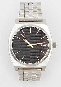 Nixon Time Teller black stamped/gold