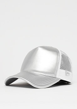 New Era Metallic Trucker silverwing